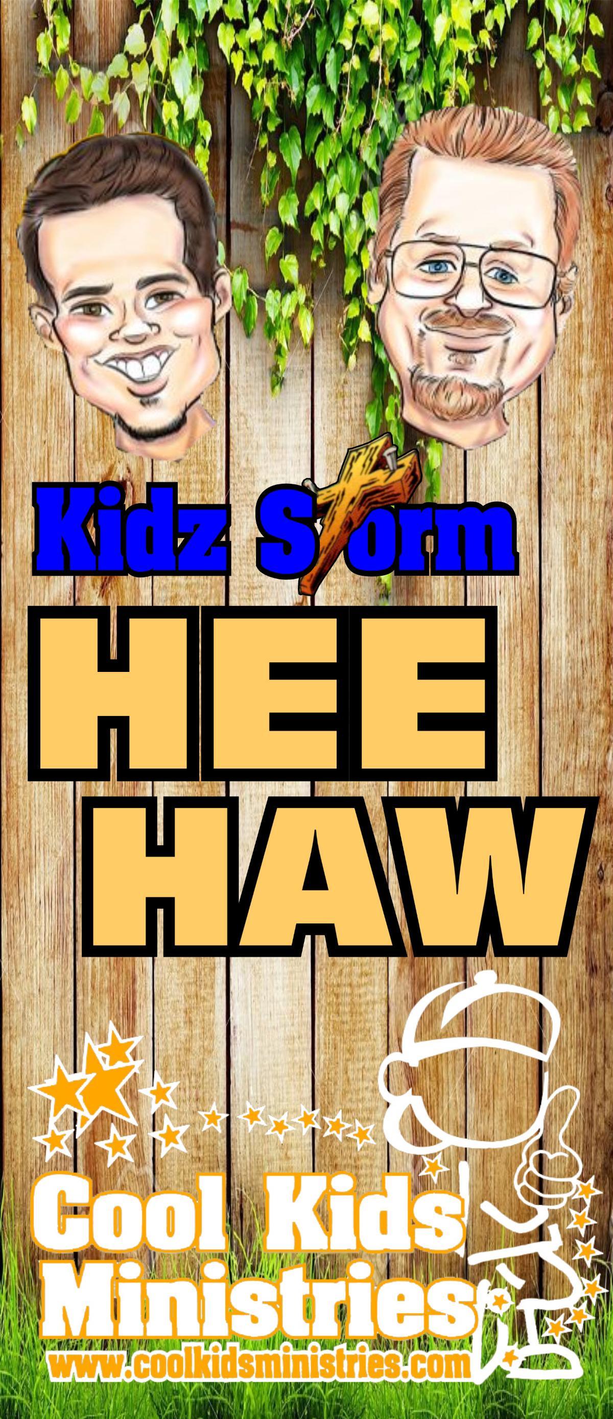 Hee Haw Vertical Banner